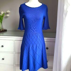Tahari Cobalt Blue Dress